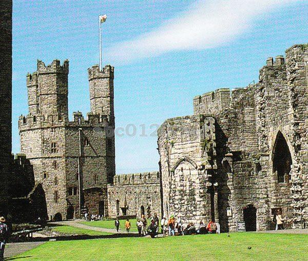 グウィネズのエドワード1世の城郭と市壁の画像 p1_14