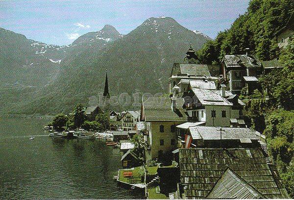 ハルシュタットの文化的景観(オーストリア世界遺産... ハルシュタットの文化的景観(オーストリア