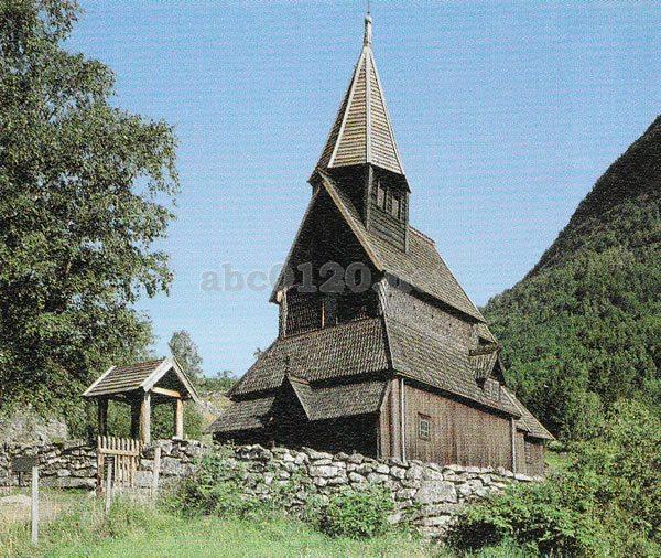 ウルネスの木造教会の画像 p1_12