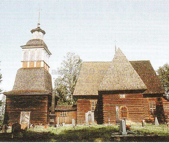 ペタヤヴェシの古教会(フィンラ...