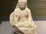 如来坐像-唐時代-石造-中国の仏像-東洋館-東京国立博物館-東京