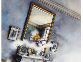 「鏡の国のアリス」軽井沢絵本の森美術館