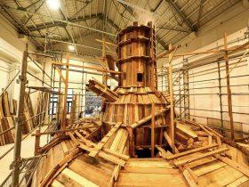 「栗林隆展」入善町下山芸術の森発電所美術館