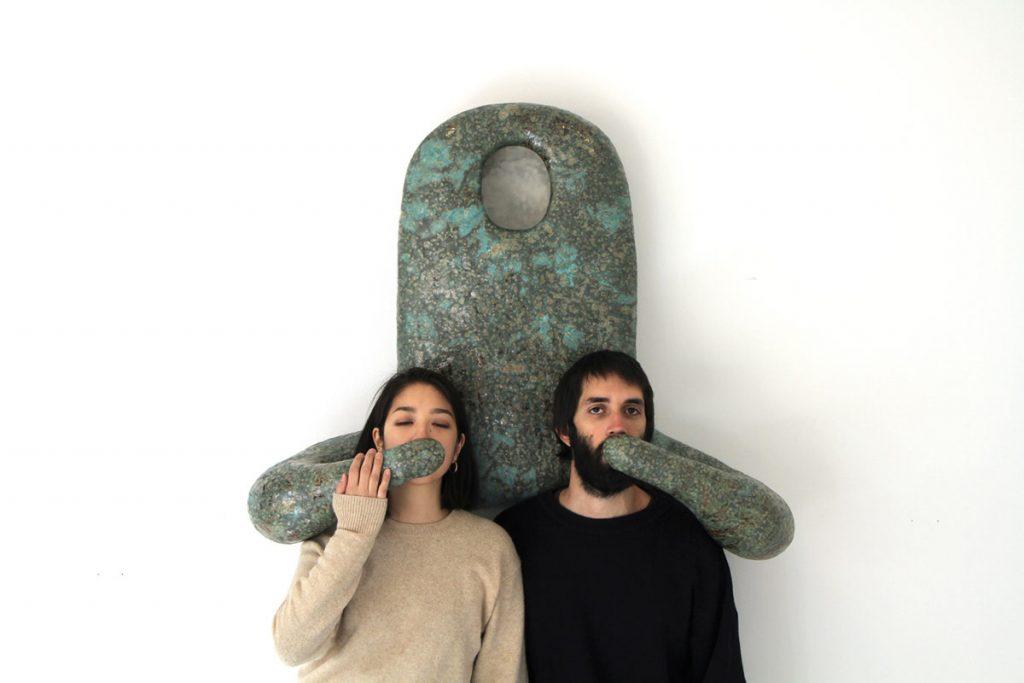 TŌBOE(西條茜+バロンタン・ガブリエ)《ホムンクルス/Homunculus》 陶磁器、2020