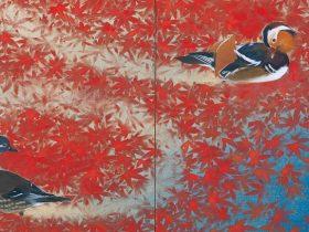 「開館50周年 愛の日本画 あふれる愛情、慈しむ心」足立美術館