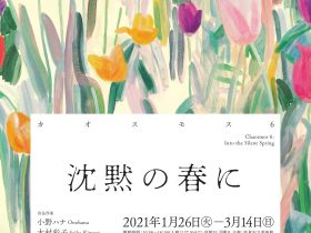 「カオスモス6 沈黙の春に」佐倉市立美術館