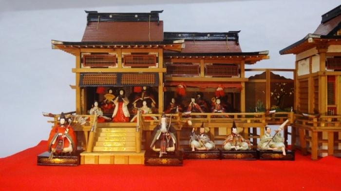 第51回トピック展示「ひなまつり~御殿飾りとひな道具~」高槻市立しろあと歴史館