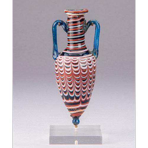アンフォリスコス 東地中海沿岸域 前2 - 前1世紀 ヘレニズム時代 ガラス