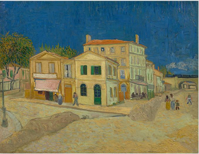 フィンセント・ファン・ゴッホ《黄色い家(通り)》1888年9月 油彩、カンヴァス ファン・ゴッホ美術館(フィンセント・ファン・ゴッホ財団) © Van Gogh Museum, Amsterdam (Vincent van Gogh Foundation)