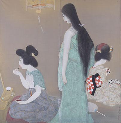 増原宗一《夏の宵》1926年(大正15)