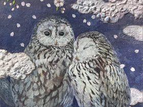 「山内奈津美 日本画展 ーいろはにほへとー」フェルケール博物館