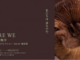 「WHO ARE WE 観察と発見の生物学 国立科学博物館収蔵庫コレクション Vol.01 哺乳類」大分県立美術館