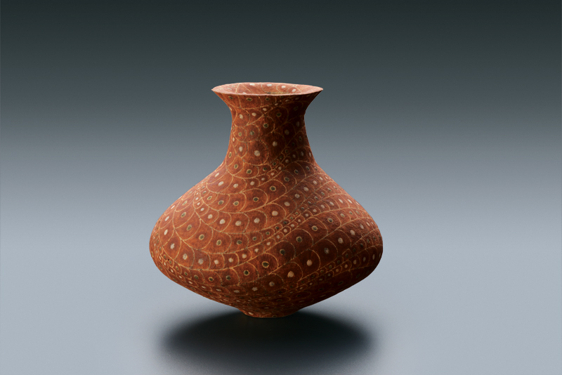 彩陶壺 1971年 個人蔵 写真提供:益子陶芸美術館