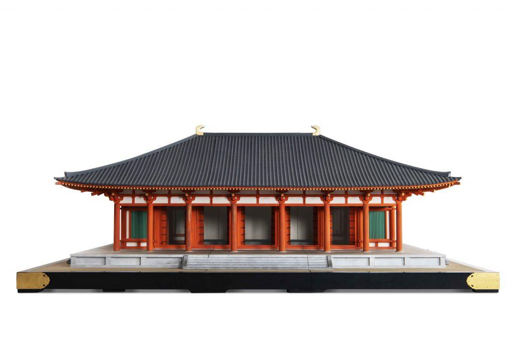 唐招提寺金堂 十分の一模型 (東京国立博物館蔵)
