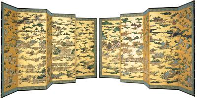 国宝「上杉本洛中洛外図屏風」原本展示