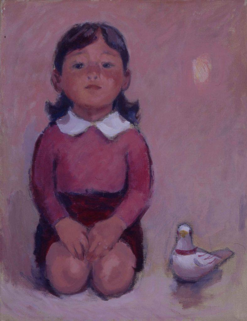 《少女と鳩笛》1960年