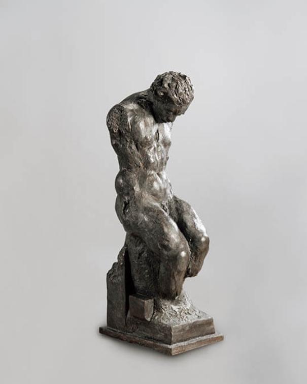 渇くひと(片山博詞)セクション1「彫刻を超克する」国立民族学博物館 提供