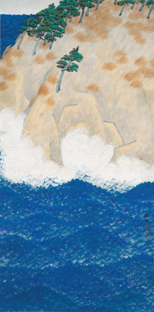 速水御舟 《荒海》 1915年