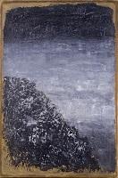 香月泰男《裏山雪》1971年