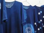 伝統工芸館ミニ展示「藍T -藍染めTシャツの魅力-」川崎市立日本民家園