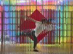 「「ル・パルクの色 遊びと企て」ジュリオ・ル・パルク展」銀座メゾンエルメス フォーラム 8階・9階