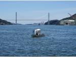 「島袋道浩 二度起こること:象が海からやってくる」長崎県美術館