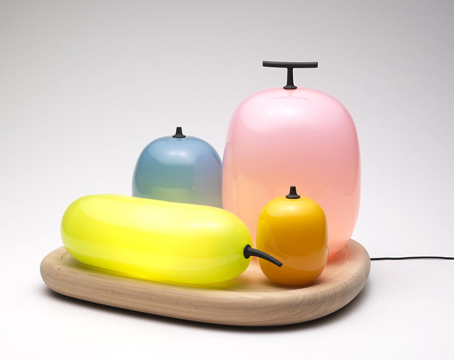 清水久和「フルーツ・テーブル・ランプ」2011