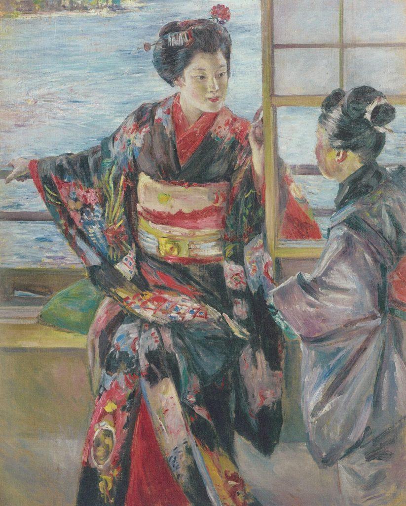 重要文化財 黒田清輝《舞妓》 1927年 東京国立博物館蔵