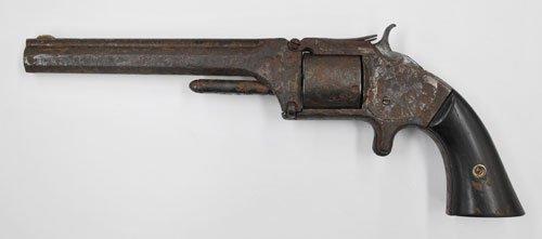 龍馬が高杉晋作から貰った拳銃と同型の銃。龍馬が持っていたものは、寺田屋で幕府の役人に襲われた時に捨てたため、現存していない。