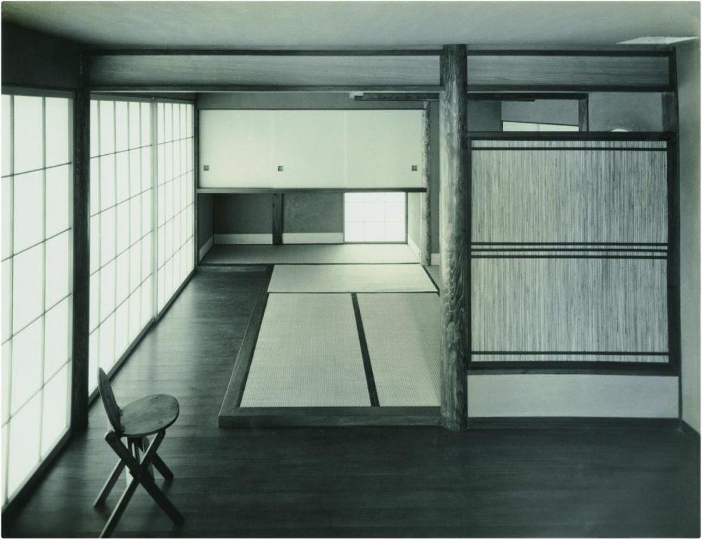 《渡辺博士邸(試作小住宅)》1953年 撮影:平山忠治
