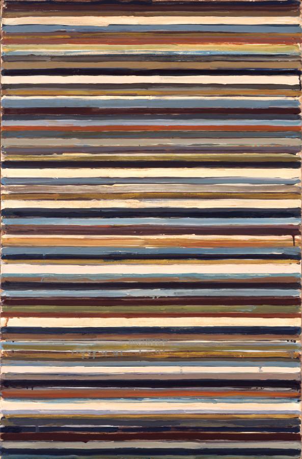 山田正亮 《Work C-75》 1960年 油彩、布 芦屋市立美術博物館蔵