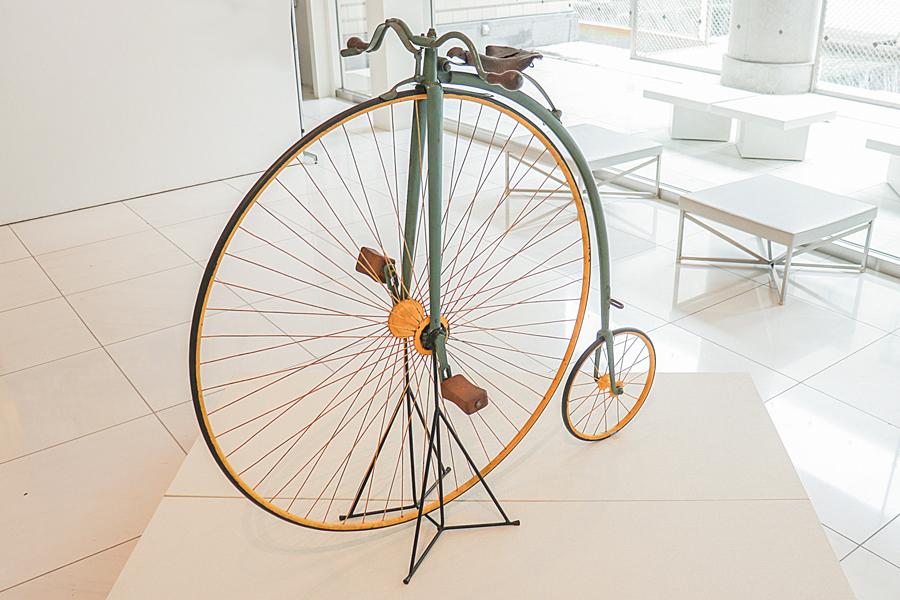 オーディナリ型自転車自転車博物館サイクルセンター蔵