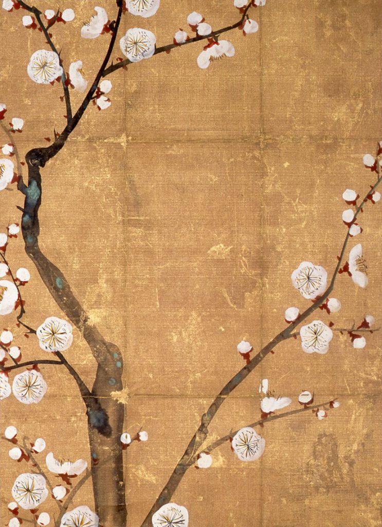 白梅図香包 尾形光琳 江戸時代 18世紀