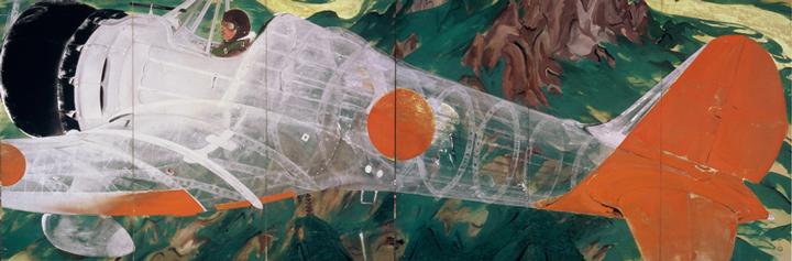 川端龍子《香炉峰》1939年、大田区立龍子記念館