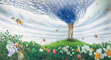 鴻池朋子《ラ・プリマヴェーラ》2002年 高橋龍太郎コレクション  ©KONOIKE Tomoko