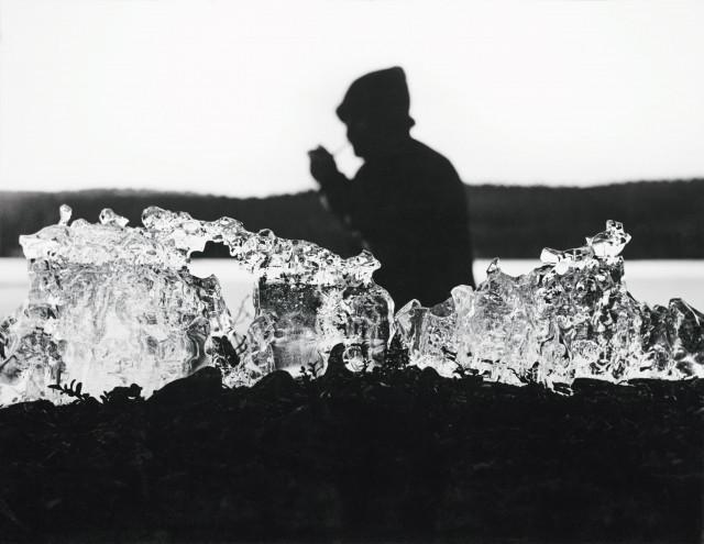 マッティ A. ピトゥカネン《アイスマン(タピオ・ヴィルッカラ)》1962年、フィンランド国立写真美術館蔵