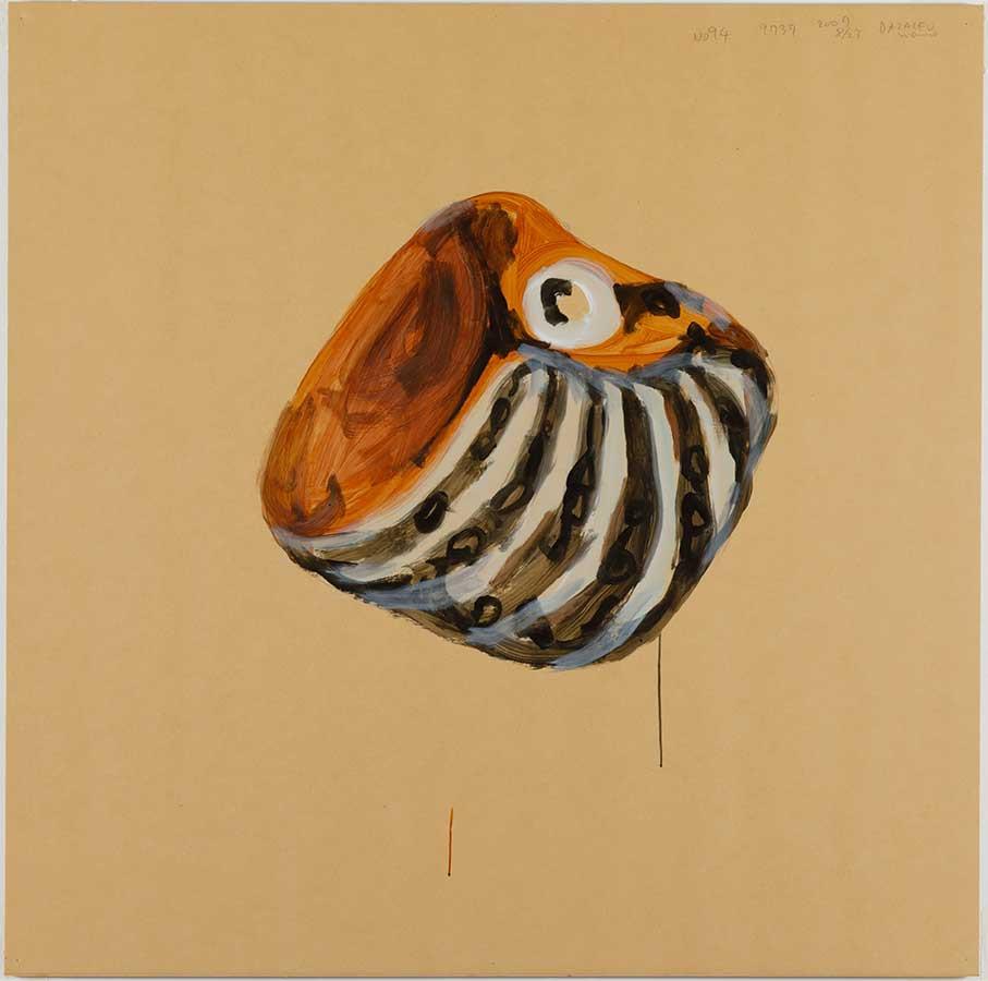 日比野克彦《No.94 Dazaifu》(『明後日の種』より)2007年 金沢21世紀美術館(撮影:木奥惠三)