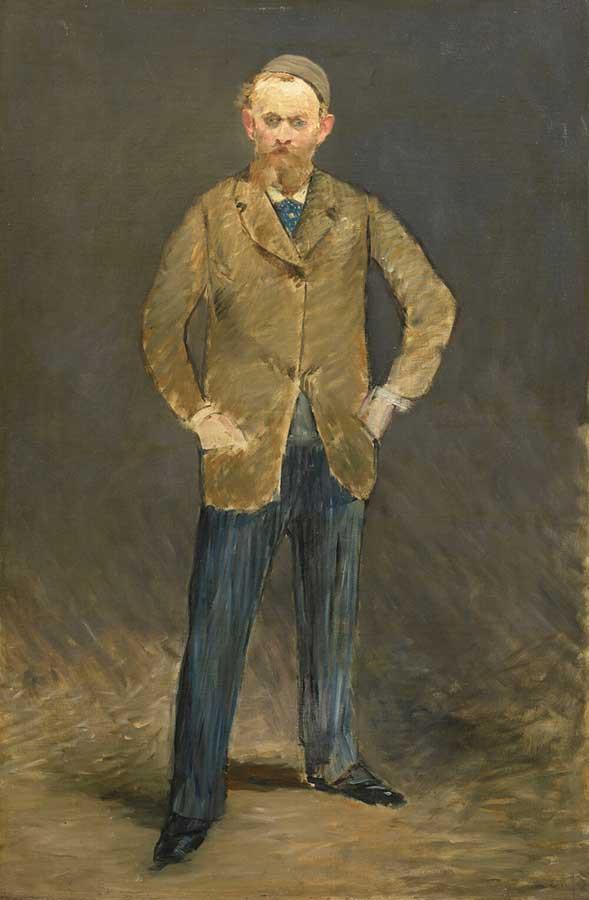 エドゥアール・マネ《自画像》1878-79年 石橋財団アーティゾン美術館蔵