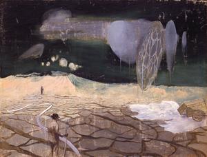 伊藤久三郎《Toleration》 1938年、板橋区立美術館蔵
