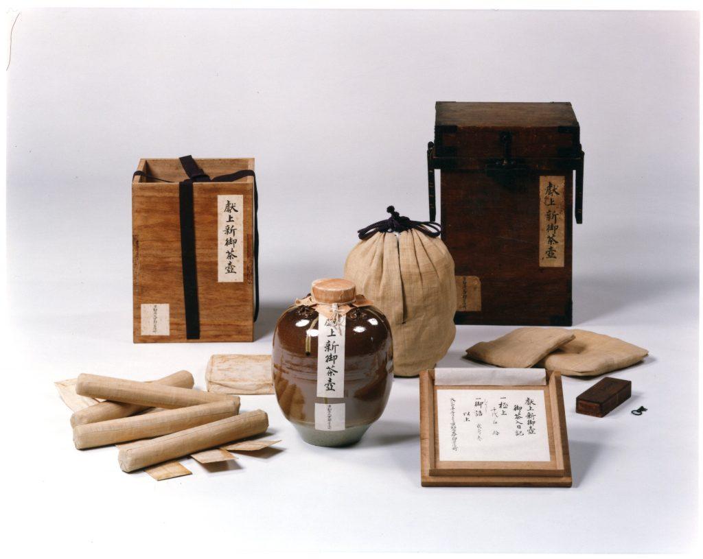 茶の木人形 上林清泉作 江戸時代