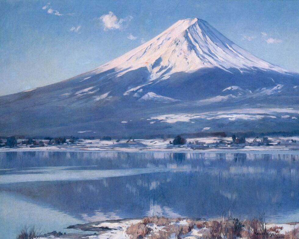 和田英作《富士(河口湖)》 1926年 鹿児島県歴史・美術センター黎明館蔵