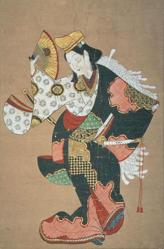 絵師不詳 《大小の舞図》 17世紀 板橋区立美術館 [後期展示]
