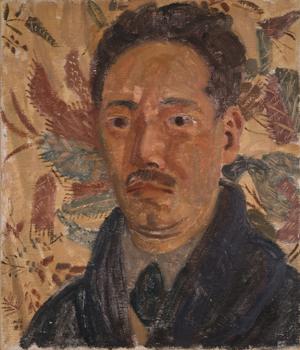 斎藤与里《自画像》1929年