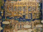 和田三造《博多繁昌の図》1958年