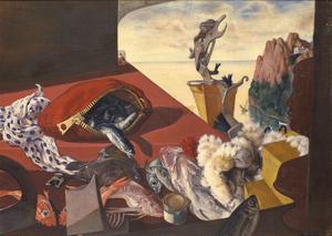 早瀬龍江《静物B》 1941年、板橋区立美術館蔵