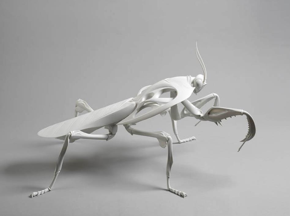 奨励賞 堀貴春《White bone mantis》 【一部公募部門受賞作】