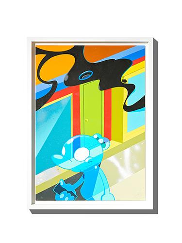 コイン パーキング デリバリー 個展「ディメンション メディア」ディーゼル アート ギャラリー