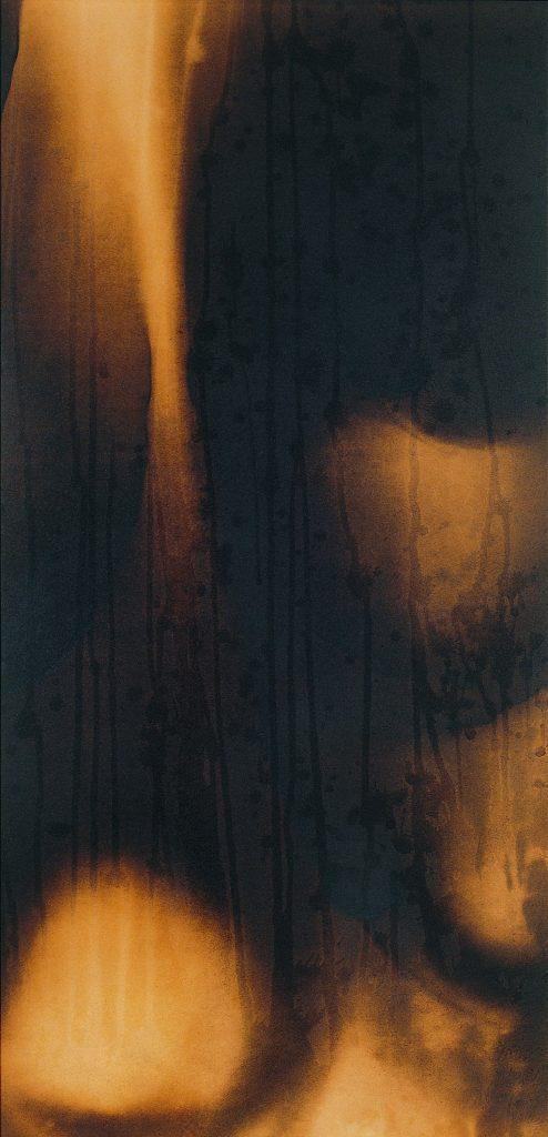 イヴ・クライン《火の絵画》1961年/(いわき市立美術館蔵)