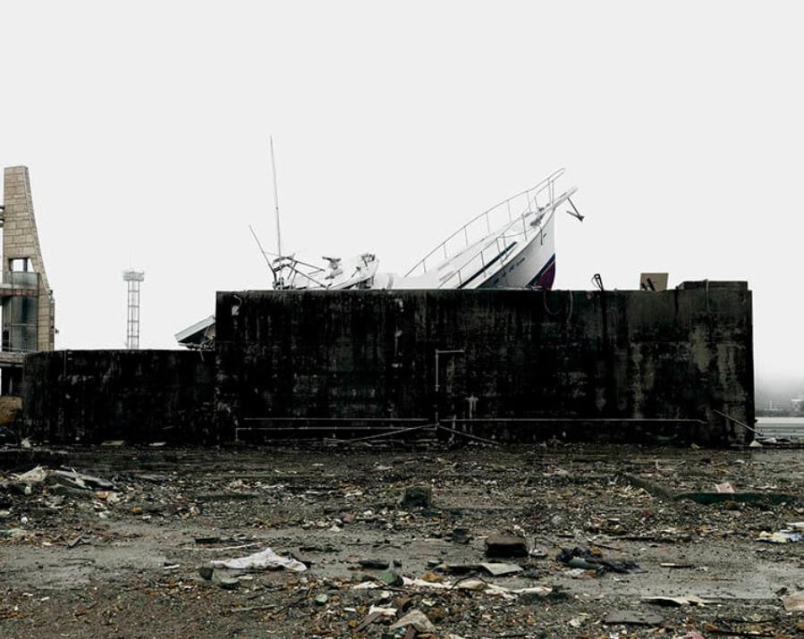 北島敬三「UNTITLED RECORDS」より≪岩手県大船渡市≫、2011年、顔料印刷 ©KITAJIMA KEIZO