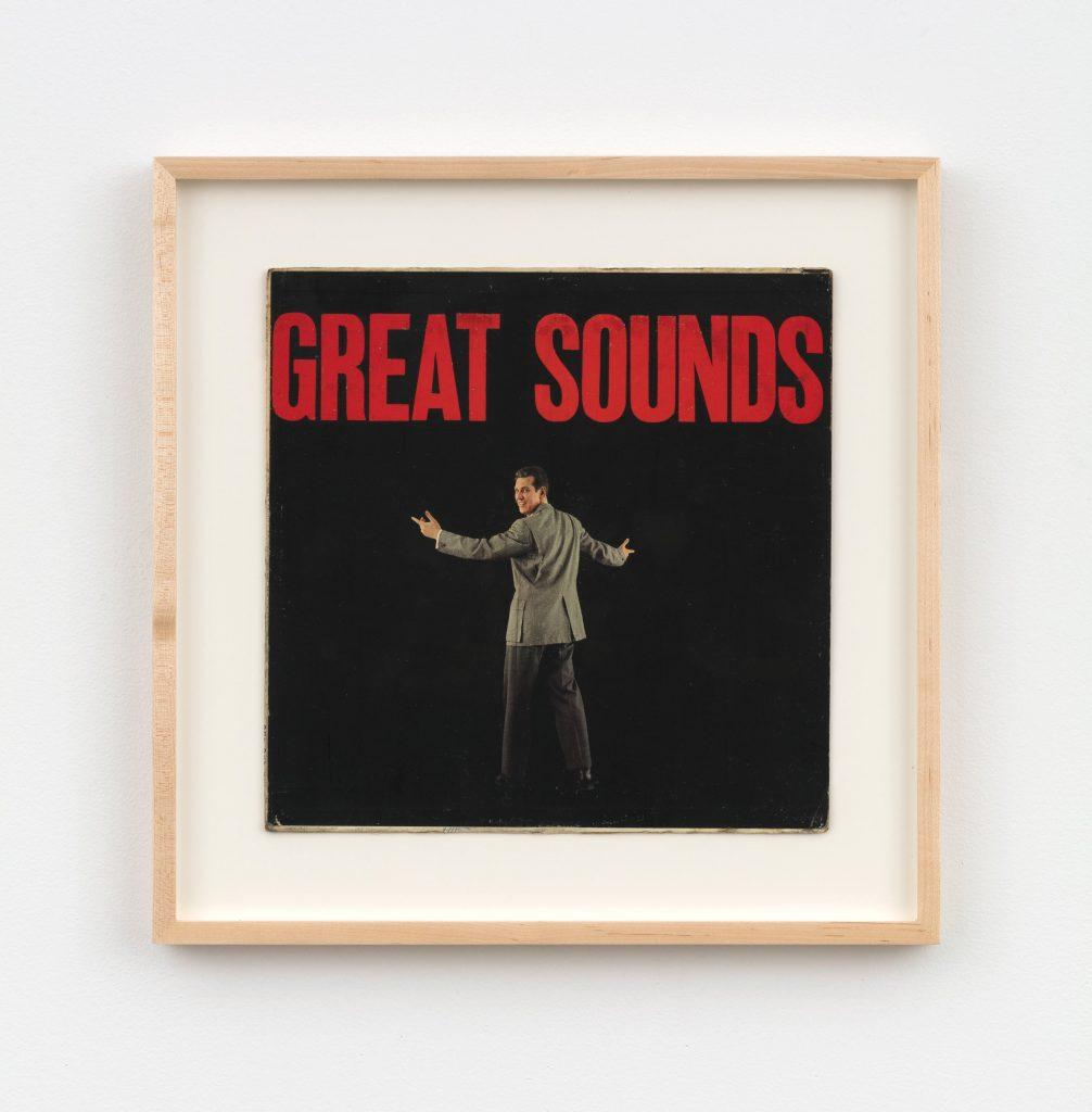 《無題(「架空のレコード」シリーズより)》 1992 改変されたレコード・アルバム・カバー Photo: Steven Probert © Christian Marclay. Courtesy Paula Cooper Gallery, New York.
